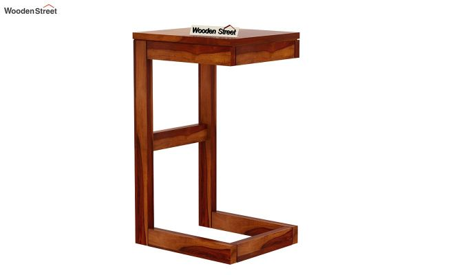 Anvi Side Table (Honey Finish)-4