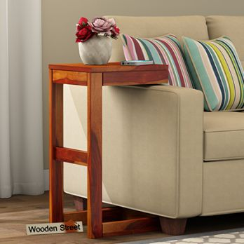 Wooden Side Tables and End Tables Online in Bangalore, Mumbaii, India