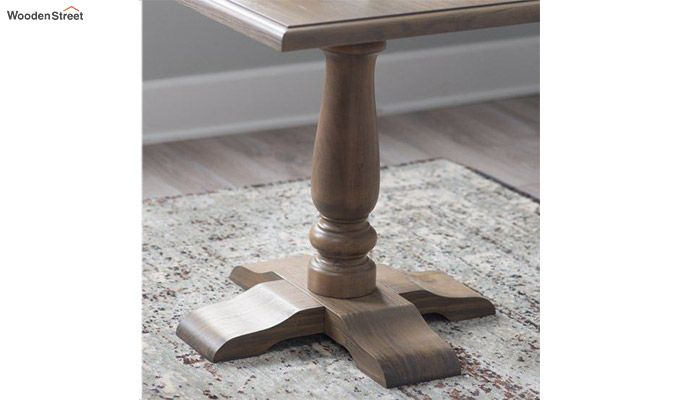 Ashby Side End Table (Teak Finish)-3