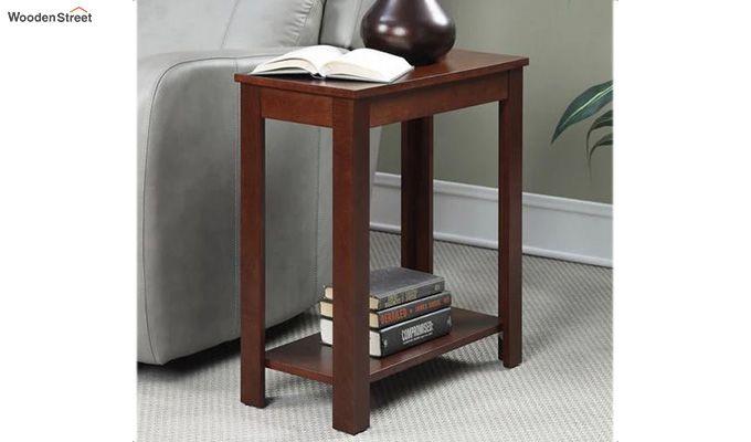Baldwin Chair Side Table (Mahogany Finish)-1