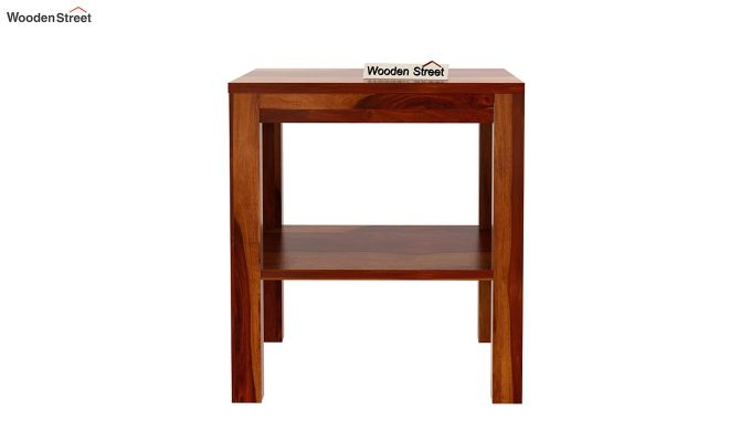 Bonn Chair Side Table (Honey Finish)-5