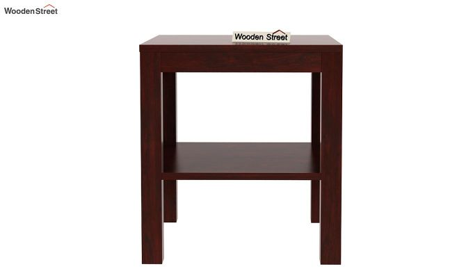 Bonn Chair Side Table (Mahogany Finish)-4