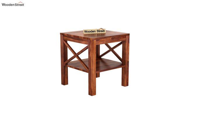 Bonn Chair Side Table (Honey Finish)-2