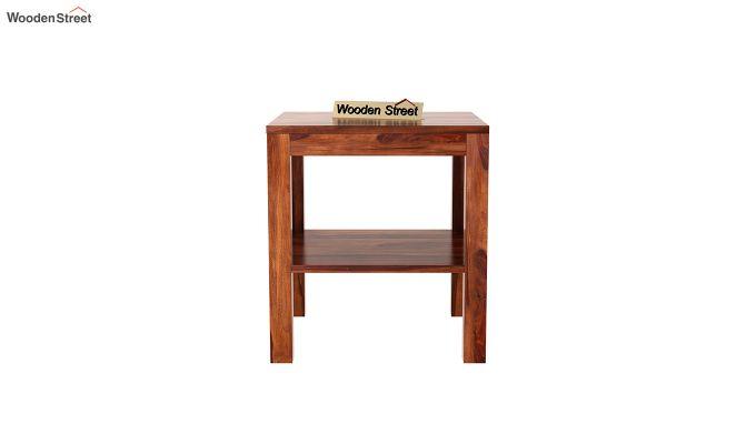 Bonn Chair Side Table (Honey Finish)-3