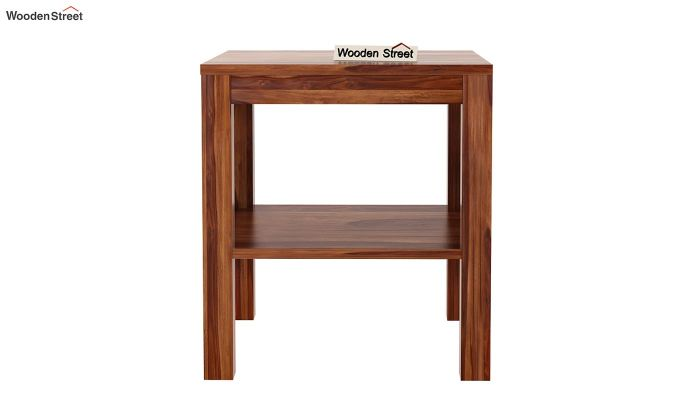 Bonn Chair Side Table (Teak Finish)-4