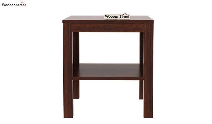 Bonn Chair Side Table (Walnut Finish)-4