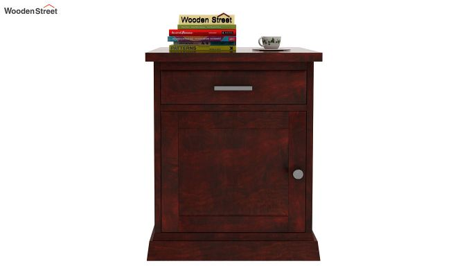 Caramel Side End Table (Mahogany Finish)-2