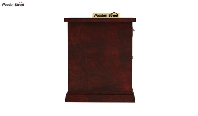 Caramel Side End Table (Mahogany Finish)-5