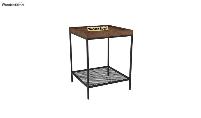 Dawn End Table (Walnut Finish)-2