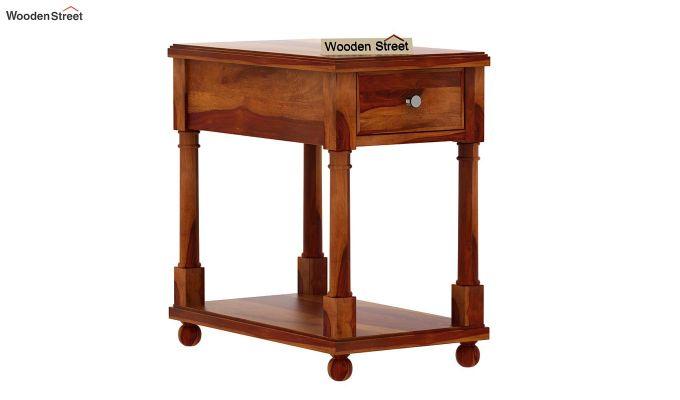 Derek Chair Side End Table (Honey Finish)-3