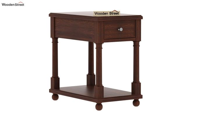Derek Chair Side End Table (Walnut Finish)-4