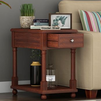 Wooden Side tables Online in India