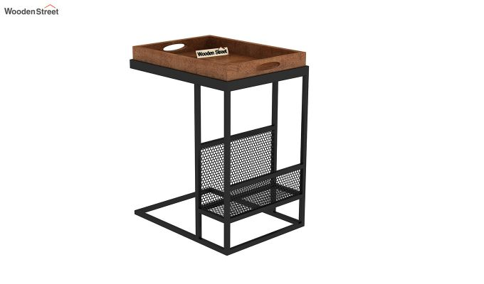 Chester End Table (Teak Finish)-5