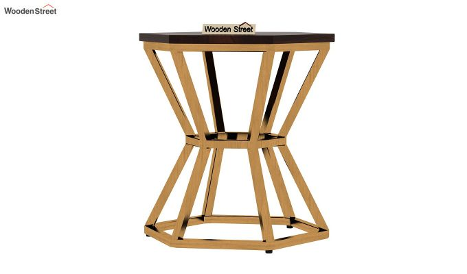 Drome Side End Table (Walnut Finish)-3