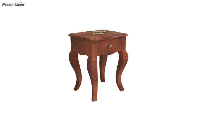 Ekara Side End Table (Honey Finish)-2