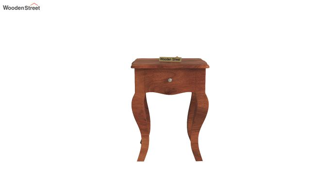 Ekara Side End Table (Honey Finish)-3