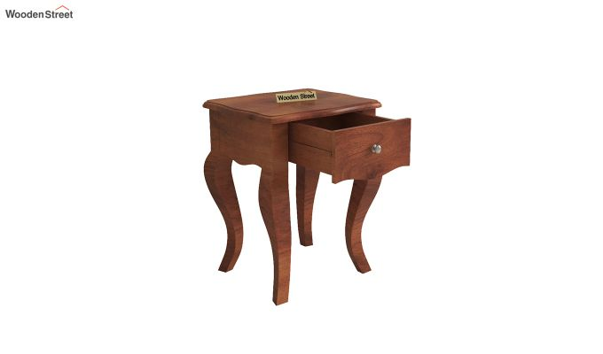 Ekara Side End Table (Honey Finish)-4