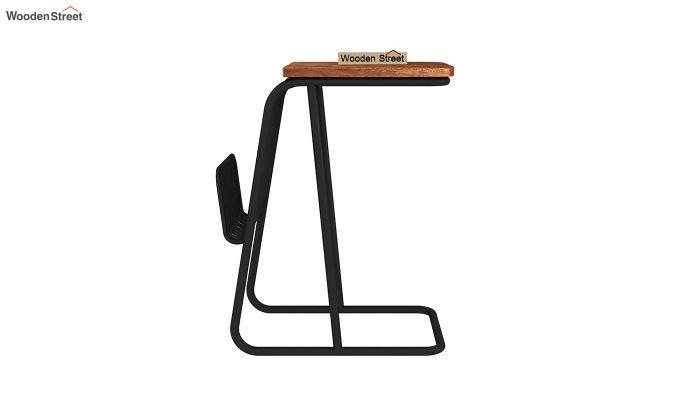 Hook End Table (Teak Finish)-4