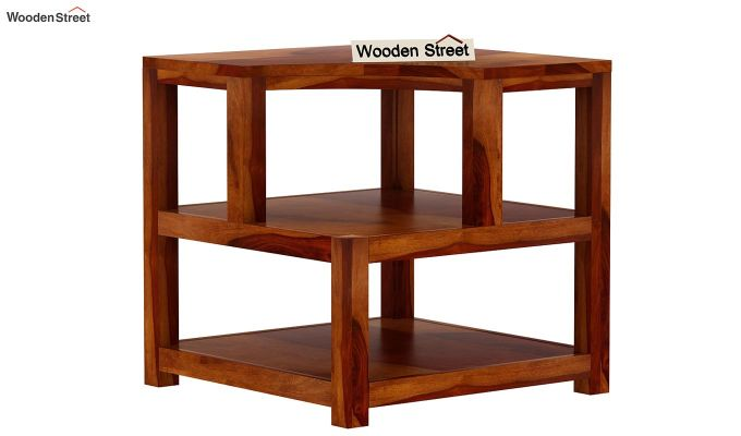 Legion Chair Side End Table (Honey Finish)-4