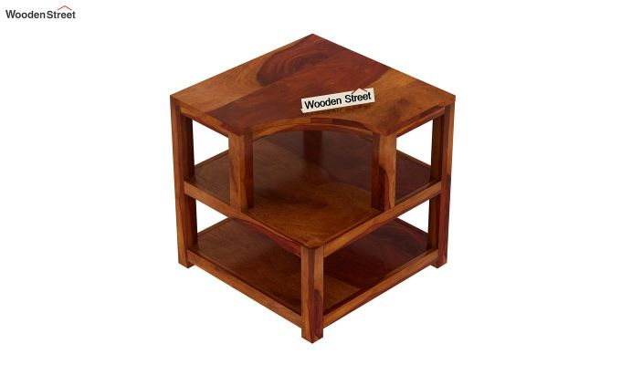 Legion Chair Side End Table (Honey Finish)-5