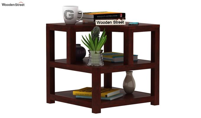 Legion Chair Side End Table (Mahogany Finish)-1