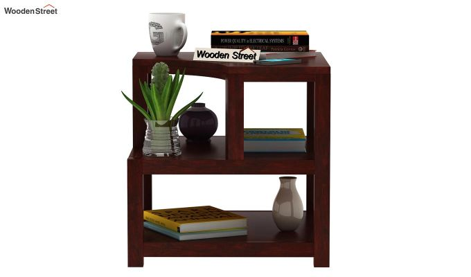 Legion Chair Side End Table (Mahogany Finish)-2