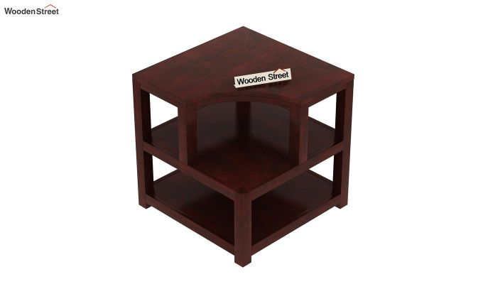 Legion Chair Side End Table (Mahogany Finish)-4
