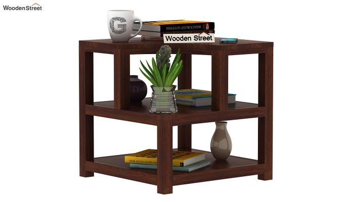 Legion Chair Side End Table (Walnut Finish)-2
