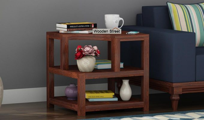 Legion Chair Side End Table (Walnut Finish)-1