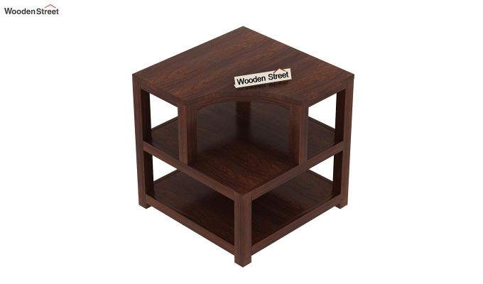 Legion Chair Side End Table (Walnut Finish)-5