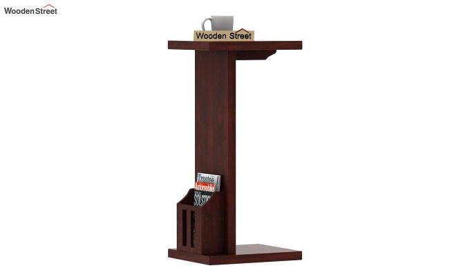 Libby Chair Side End Table (Mahogany Finish)-1
