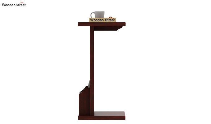 Libby Chair Side End Table (Mahogany Finish)-2