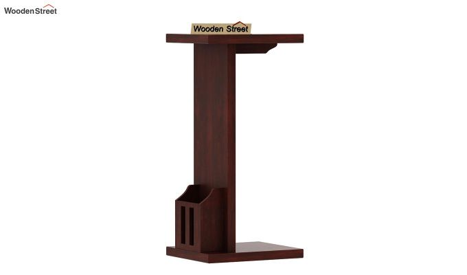 Libby Chair Side End Table (Mahogany Finish)-3