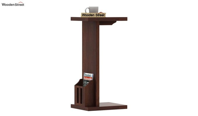 Libby Chair Side End Table (Walnut Finish)-1