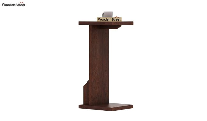 Libby Chair Side End Table (Walnut Finish)-4