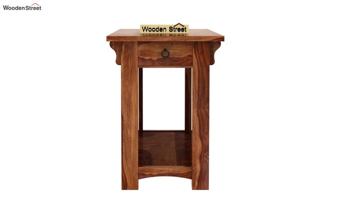 Nord Chair Side End Table (Teak Finish)-3