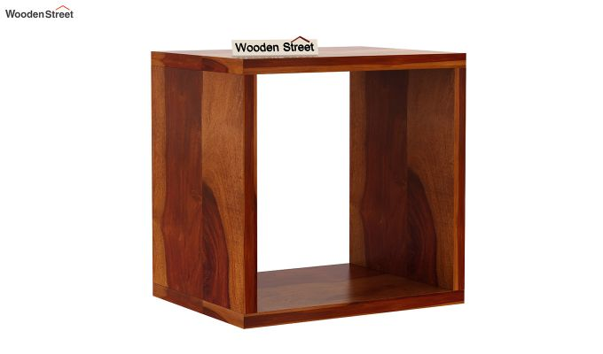 Norma Side End Table (Honey Finish)-3