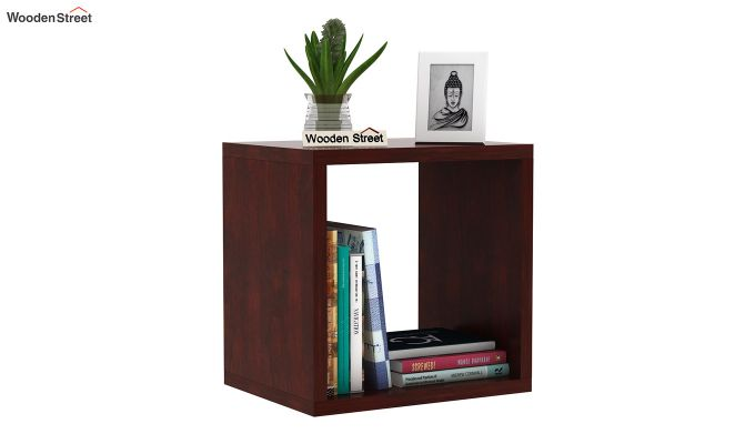 Norma Side End Table (Mahogany Finish)-1