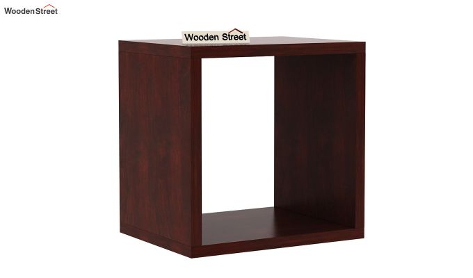 Norma Side End Table (Mahogany Finish)-3