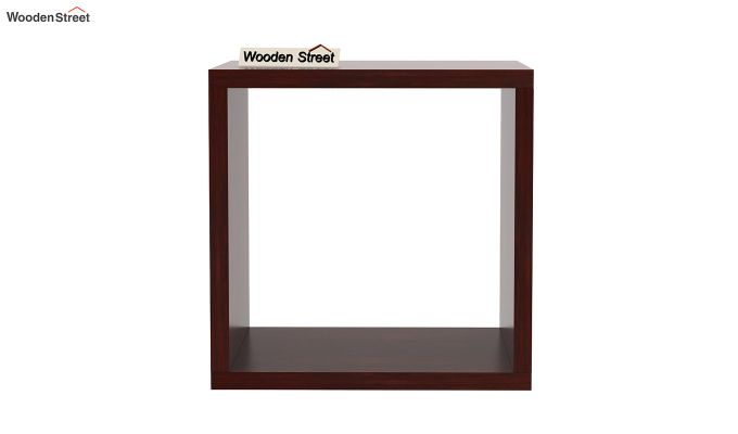 Norma Side End Table (Mahogany Finish)-4