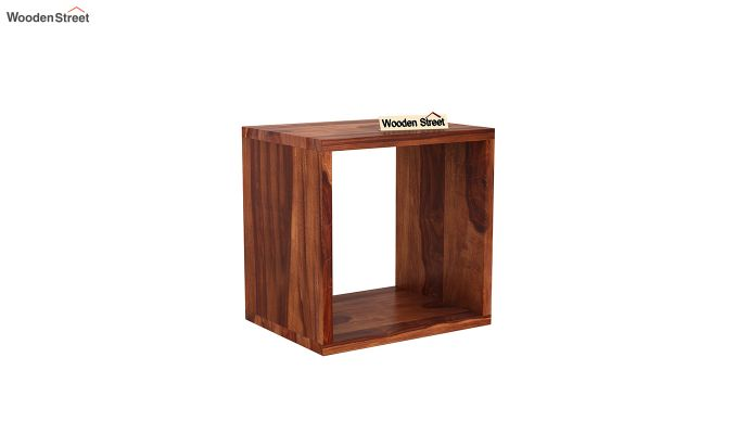Norma Side End Table (Honey Finish)-2