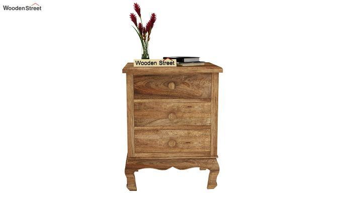 Oriole Side End Table (Natural Finish)-3