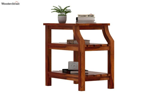 Patrin Chair Side End Table (Honey Finish)-2
