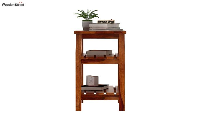 Patrin Chair Side End Table (Honey Finish)-3