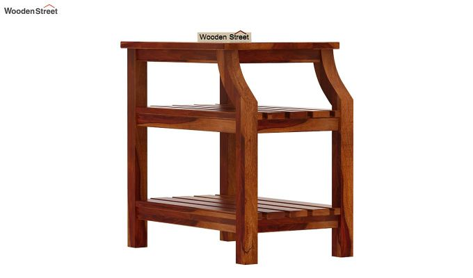 Patrin Chair Side End Table (Honey Finish)-4