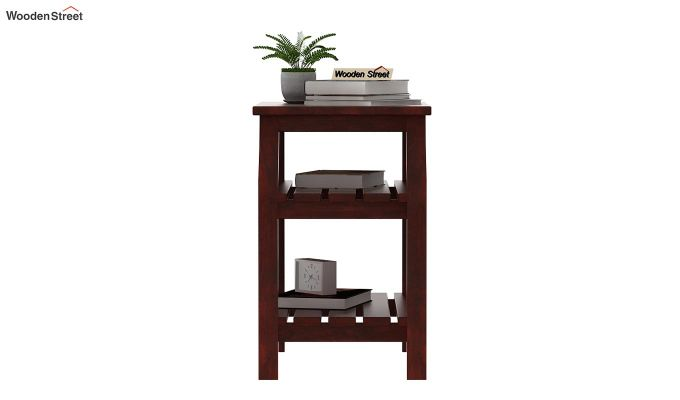 Patrin Chair Side End Table (Mahogany Finish)-2