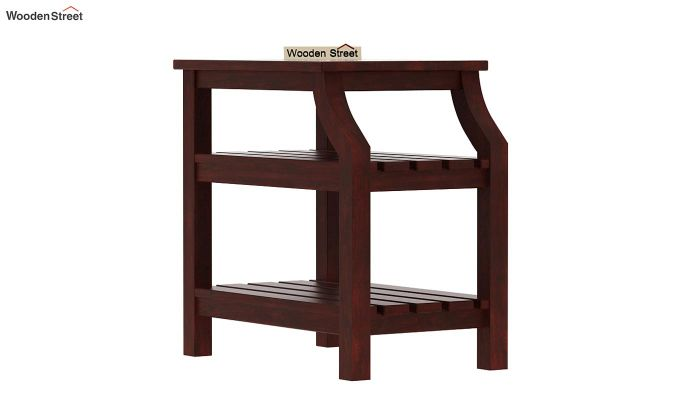 Patrin Chair Side End Table (Mahogany Finish)-3