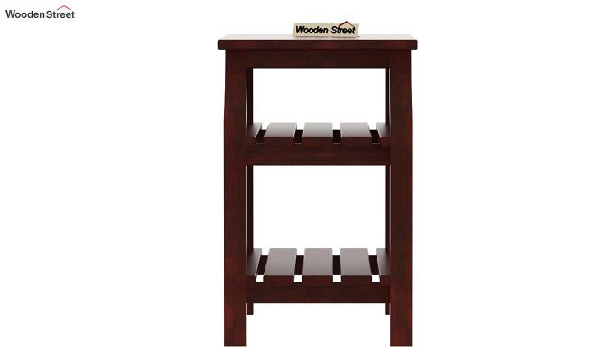 Patrin Chair Side End Table (Mahogany Finish)-4