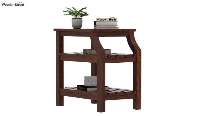 Patrin Chair Side End Table (Walnut Finish)-1