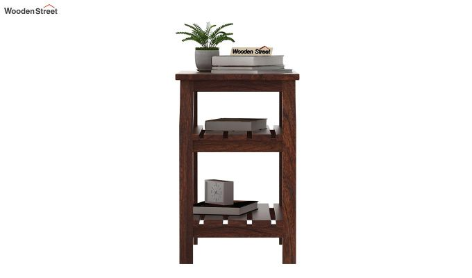 Patrin Chair Side End Table (Walnut Finish)-2
